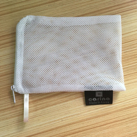 new design drawstring mesh net pouches with zipper