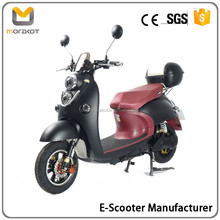 2016 Morakot Fashion Design Cool Black High Quality Low Price 60V800W Electric Motorcycle/Scooter BP2