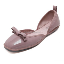 Custom fashion design shoes pictures of women flat shoes