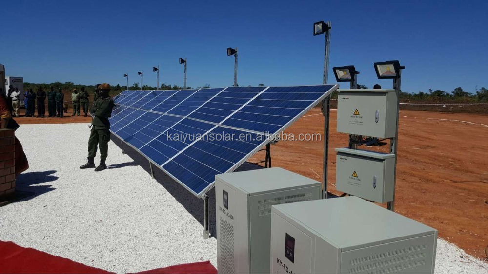 SOKOYO 5kw off-grid solar power system/photovoltaic power generation system