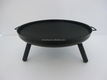 Wholesale outdoor cast iron steel fire pit / fire bowl for bonfire party