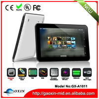 Facrory direct market dual core 10 inch cheap android tablets GX-A1011