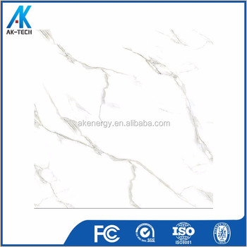 600x600 mm decoration ceramic polished glitter white glossy tile