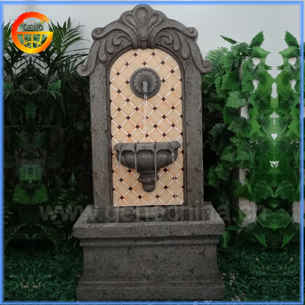 Venta al por mayor venta de fuentes de agua para jardin - Fuente de pared ...