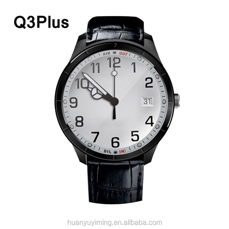 2016 new smart watch sim q3plus bluetooth wifi heart rate monitor smartwatch android 3g WCDMA watchphone wholesale
