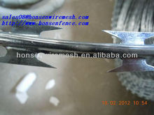 2013 Newest fashion!!! Singapore Gi razor wire fence for ship 16-year professional factory