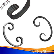 Forged wrought iron railing parts,Decorative Wrought Iron Parts - Scrolls