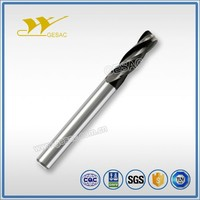 4 Flutes Corner Radius with Variable Helix Tungsten Carbide End Mill for Steel or Cast Iron High Efficiency Milling