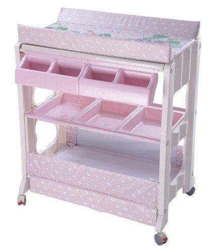 Bb070 Baby Changing Table With Bath Tub/wheels   Buy Baby Changing Table,Baby  Dressing Table,Baby Bath With Tub Product On Alibaba.com