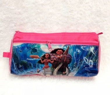 Moana cartoon pen bags cosmetic bag students stationery bags