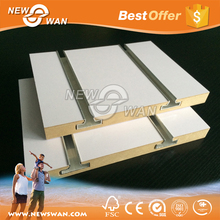 15MM MDF Slatwall / 15MM Slotted MDF / Types of Wood MDF