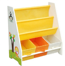Wholesale toys cheap baby mdf book shelf