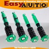 Green Adjustable Coilover Suspension Kits For