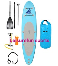 Customized stand up paddle board surf inflatable for lake