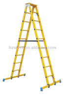 High Strength FRP Double Sided Step Ladder