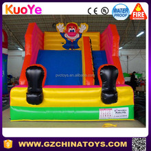 Hot sale funny cheap inflatable clown slide for children