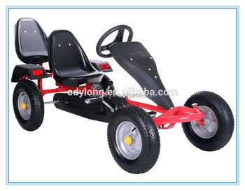 big adult go kart adult pedal go kart for two person F160AB