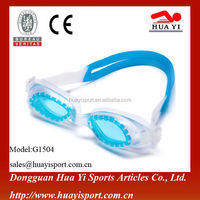 Durable peripheral pvc material one bridge water sports swim goggles
