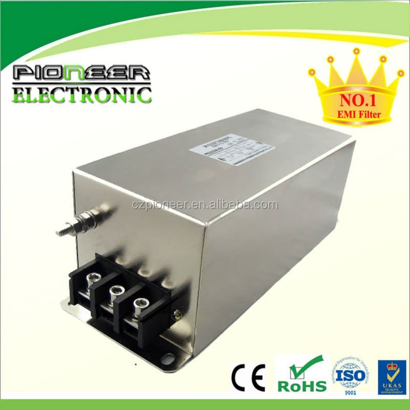 Sine wave filter with 3 phase emi filter rohs compliance pe323m buy