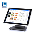 Commercial multi touch lcd 15 capacitive touch screen monitor