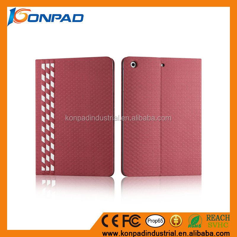 2016 new design Smart Cover with Built-in Stand and Auto Sleep/Wake Function for ipad 2 cover case