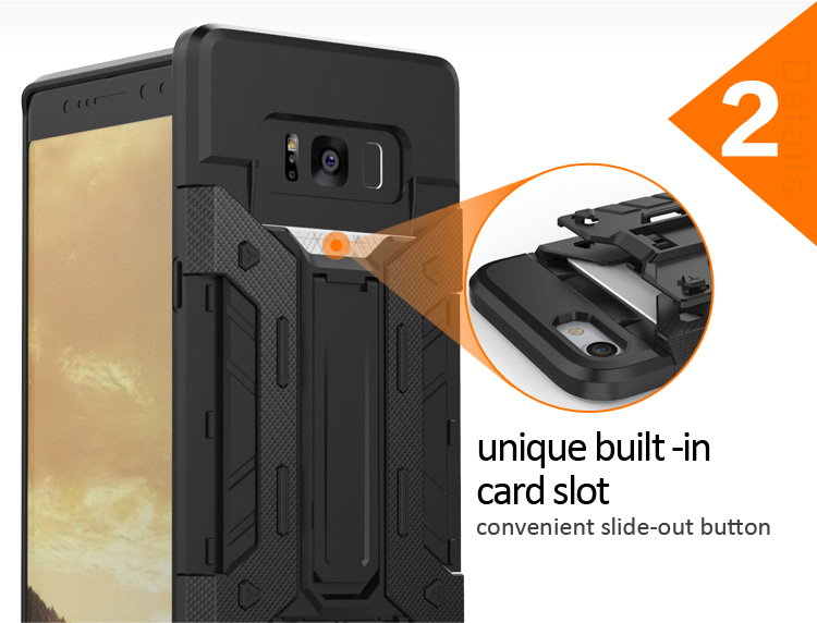 Hot Product tpu pc mobile phone shell for samsung galaxy note 8,for samsung galaxy note 8 bumper case
