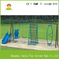 Playground kids metal mulifunctional swing set
