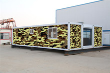 alibaba China low prefab container house refugee camp