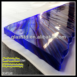 40mm glass top,led bar glass top,led bar table