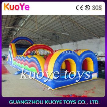 amusement park games factory hi ce commercial cheap inflatable obstacle course