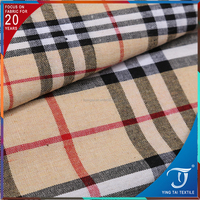 20 years focus on fabrics top quality 100% cotton scotland style yarn dyed check fabric for school uniform shirt,dress,suit