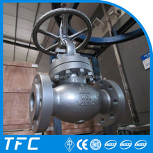 A351 CF3 CF3M CF8 CF8M Stainless steel Straight type high temperature globe valve