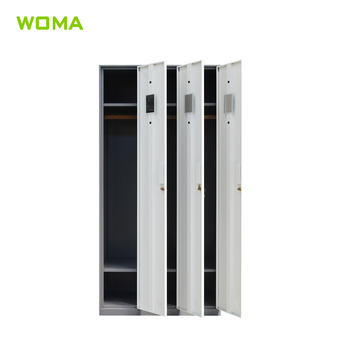 Best seller steel cabinet clothes locker metal closet wardrobe steel armoire wardrobe
