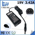 High quality factory cheap Laptop Adapter Tingxing brand for Toshiba 19V3.42A65W Notebook charger 5.5*2.5MM