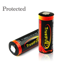 Original Trustfire 26650 Protected 5000mAh 3.7V Li-ion Rechargeable Battery