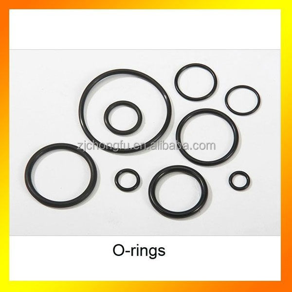 Rubber exhaust rubber o-ring flat washers/gaskets for auto TS16949