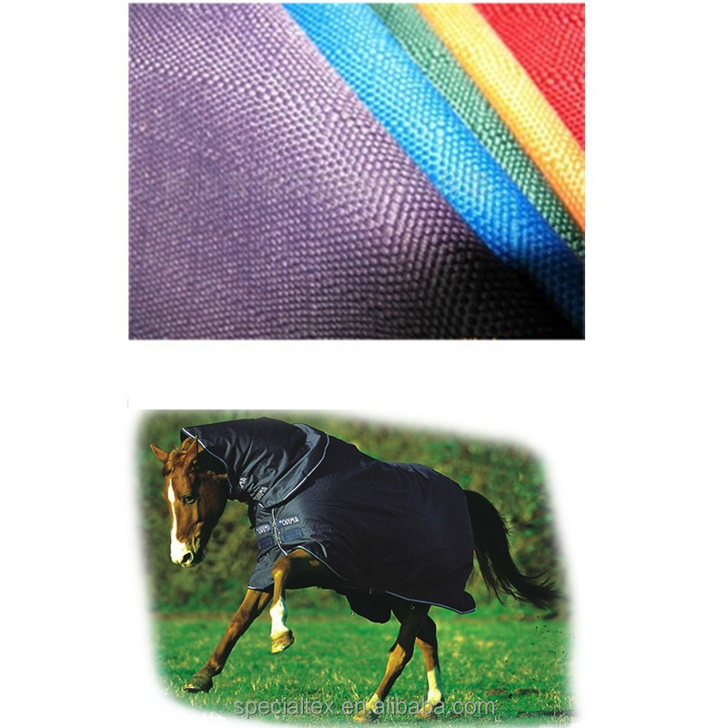 1200D ripstop oxford fabric for horse rug