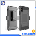 For Iphone X Case Tough Protective Armor Cover with Kickstand Holster Belt Clip