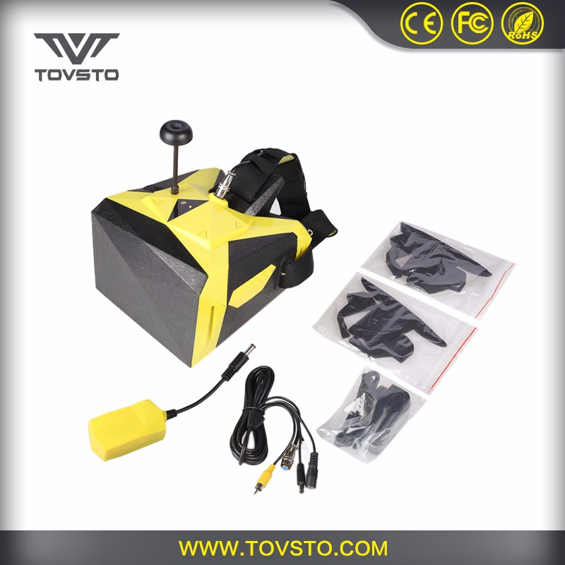 TOVSTO Hot Cake 7 inch Screen 32 Channel 5.8G Wireless 1080P FPV Glasses Video Goggles