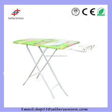 Hotel stable wall mounted metal mesh top ironing board