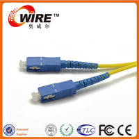 Wholesales SM G652D 2 Core Simplex SC Fiber Optic Jumpers For LAN