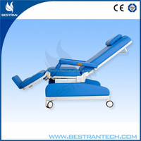 BT-DY004 hospital dialysis equipments CE ISO manual used medical chair