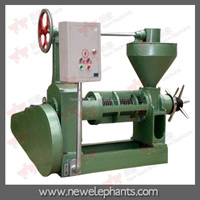 Family used manual cold pressing oil press 6YL-100