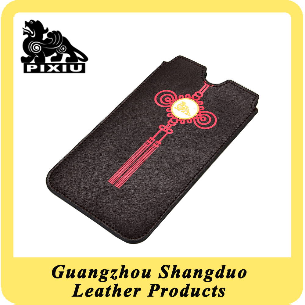 Customized Real Leather Cell Phone Case