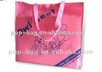 plastic tote bag with full color printing