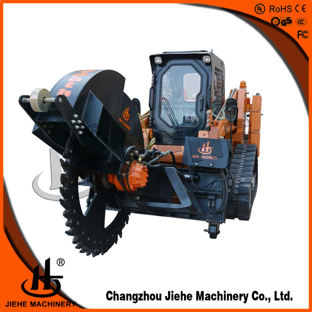 fiber optic micro trenching machine for microduct,cable laying JHK-600