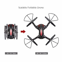 Drone Mini Toys Skytech TK110HW Wifi FPV 0.3MP Drone HD Camera RC QuadcopterW/Flight Plan Route Altitude Hold Function Drone RTF