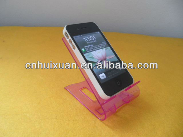 Colour Plastic PS mobile phone holder