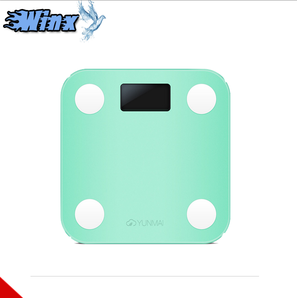 For xiaomi yunmai mini electronic smart weighting scale digital body fat health scale lossing weight scale 4 color available