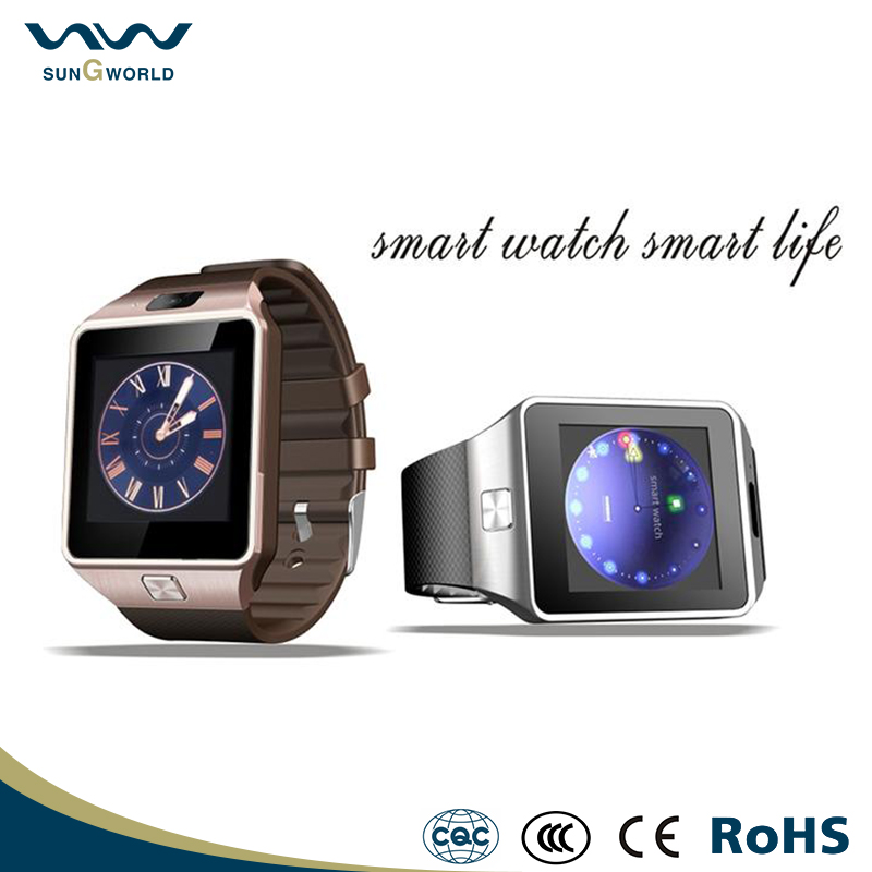 cheapest bluetooth cell phone android watch W02S ce rohs big screen sim card smart phone watch